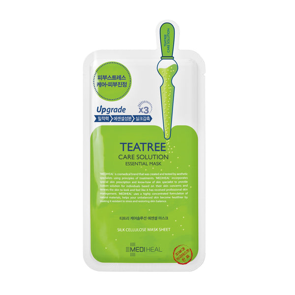 MEDIHEAL Teatree Healing Solution Essential Mask - K GLAM