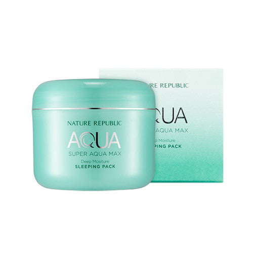 NATURE REPUBLIC Super Aqua Max Deep Moisture Sleeping Pack - K GLAM