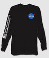 NASA Meatball Logo Mens Long Sleeve T-Shirt