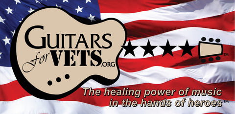 Guitars For Vets Banner
