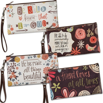 Inspirational Zipper Bag Collection