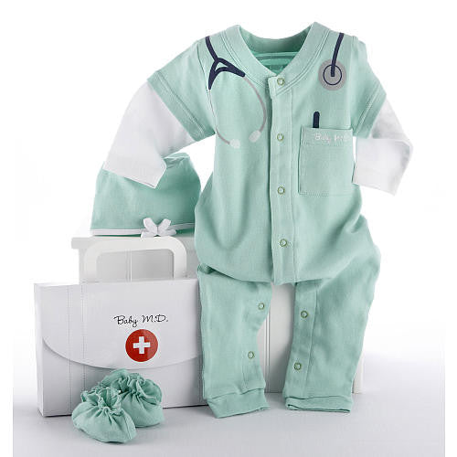 """Big Dreamzzz"" Baby M.D. Three-Piece Layette Set"