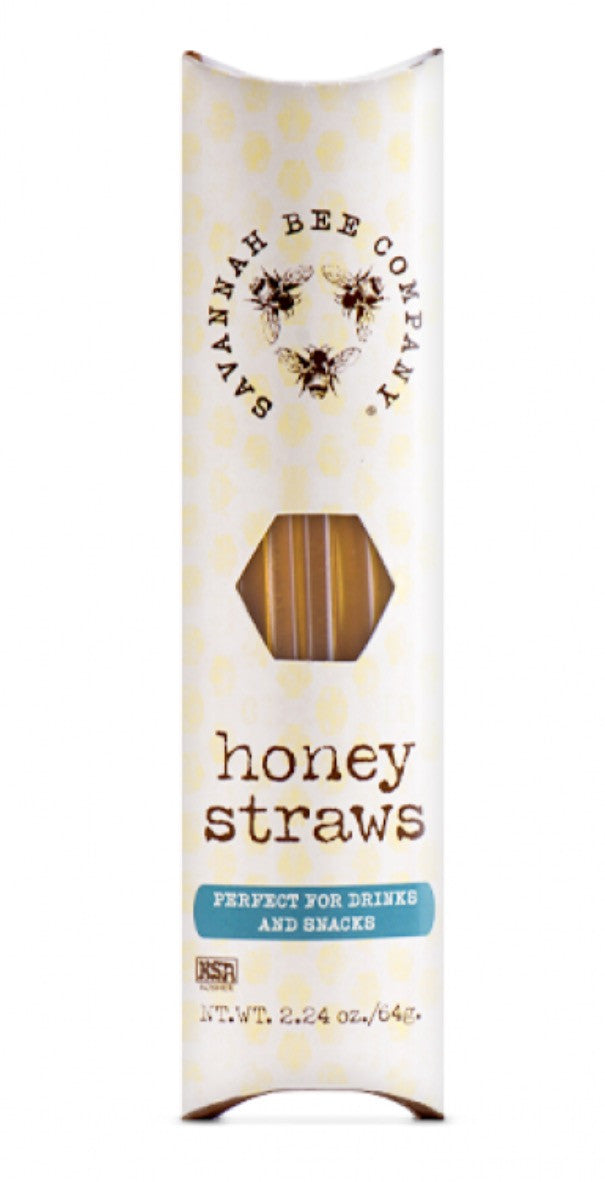 Savannah Bee Company Honey Straws