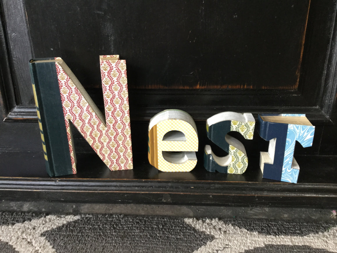 """Nest"" Cutout Books"