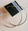 Linda Trent Large Hoop Earrings