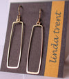Linda Trent Rectangular Drop Earrings