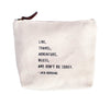 Canvas Essentials Bag