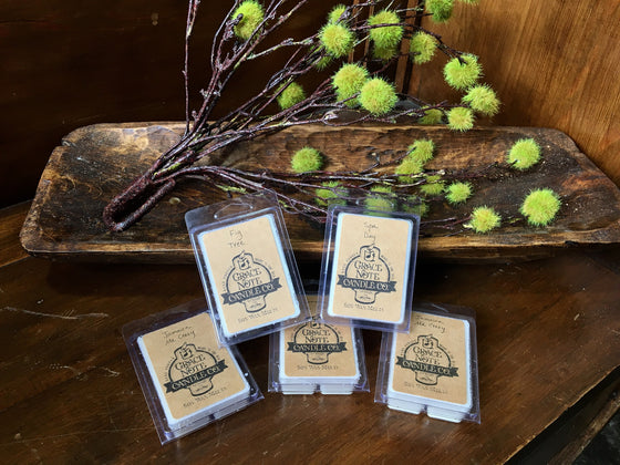 Natural Soy Wax Melts by Grace Note Candle Co.