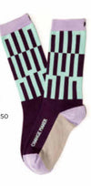 Socks with A Mantra for the Day, Women sizes