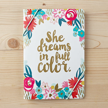 Notebook 2pack- Floral: She Dreams in Full Color