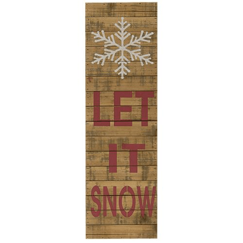 Let it snow- snowflake sign