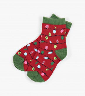 Holiday Kids Crew Socks, assorted