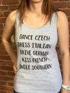 Dance Czech...Heritage Tank Top