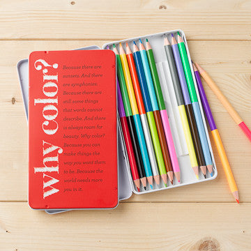"""Why Color?"" Colored Pencil Set"