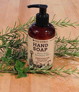 River Oaks Rosemary Mint Hand Soap by Fredericksburg Farms