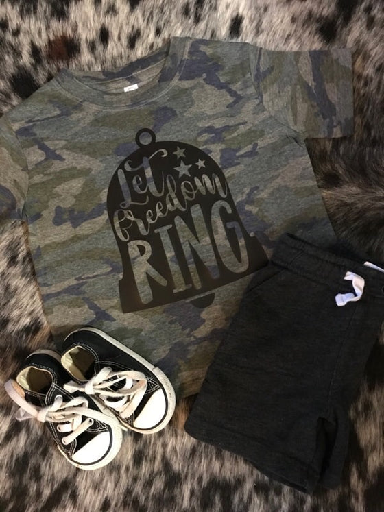 Let Freedom Ring Kids Shirt