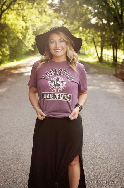 Lonestar State of Mind Shirt by Ruby's Rubbish