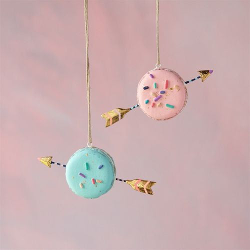 Macaron Arrow Ornament by Glitterville