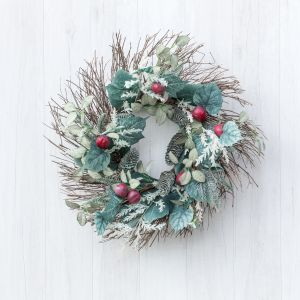 Pine and Fig Wreath