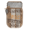 Pumpkin Spice Mason Jar Plaque