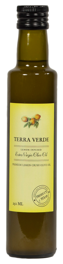 Terra Verde Lemon Infused Extra Virgin Olive Oil