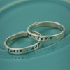 Faith Hope Love Message Ring