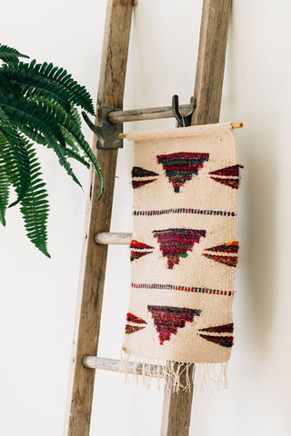 fair trade recycled wall hanging