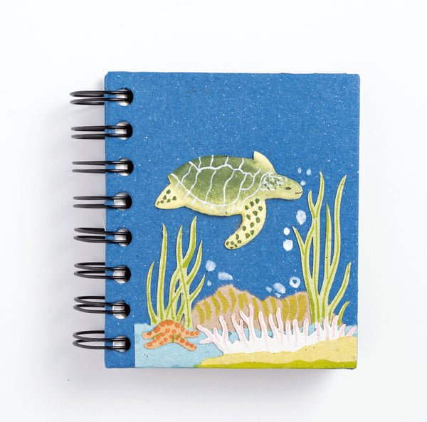 Small Notebook w/Sea Turtle