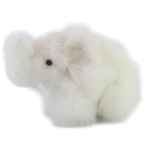 white alpaca elephant product