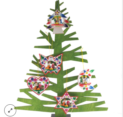 three d tree ornament