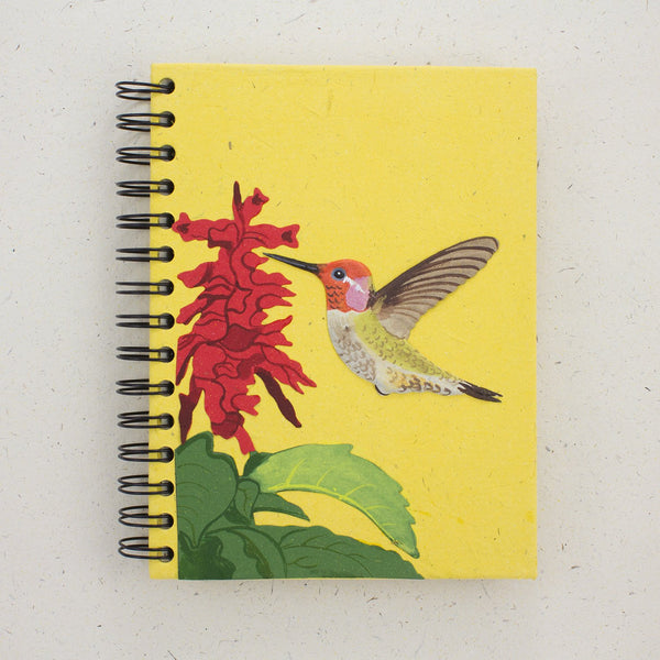 Large Notebook Hummingbird yell