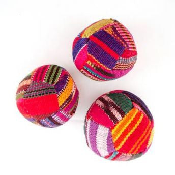 Lucia's World Emporium Fair Trade Handmade Guatemalan Woven Hacky Sacks