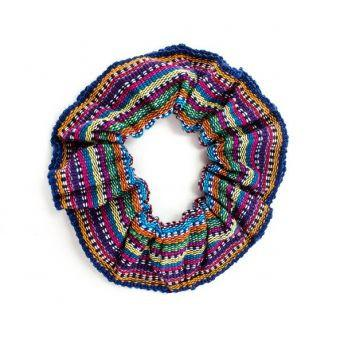 Lucia's World Emporium Fair Trade Handmade Guatemalan Hair Scrunchie
