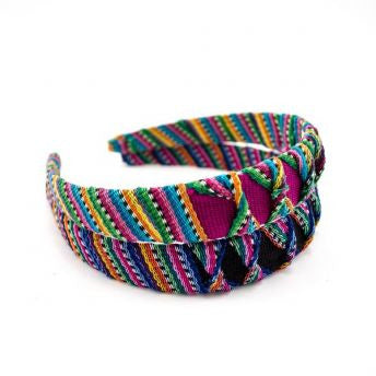 Lucia's World Emporium Fair Trade Handmade Guatemalan Cotton Toto Headband