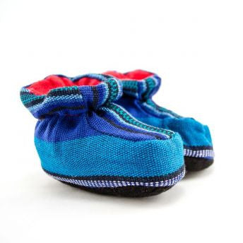Fair Trade Handmade Guatemalan Baby Booties