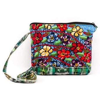 Guatemalan Fair Trade Upcycled Huipile Purse