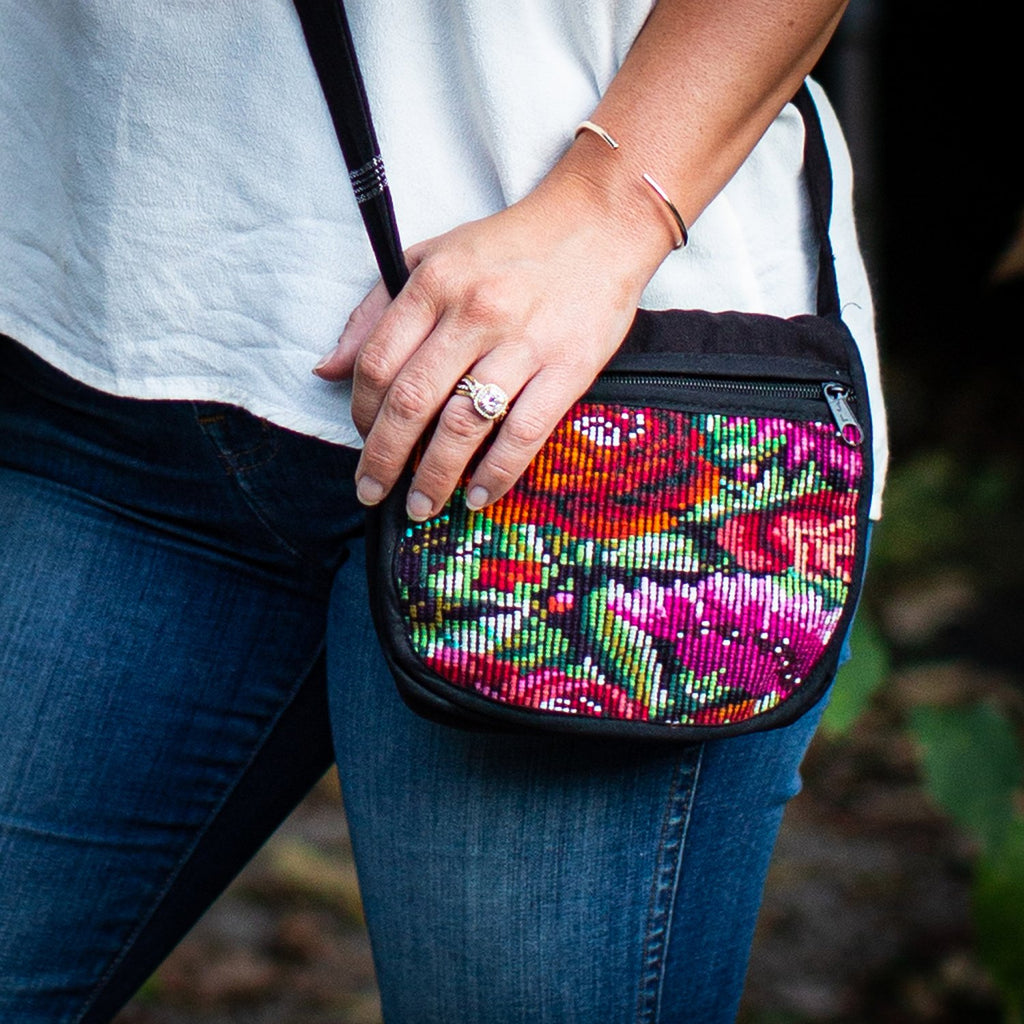 Lucia's World Emporium Fair Trade Handmade Guatemalan Chichi Moon Pouch