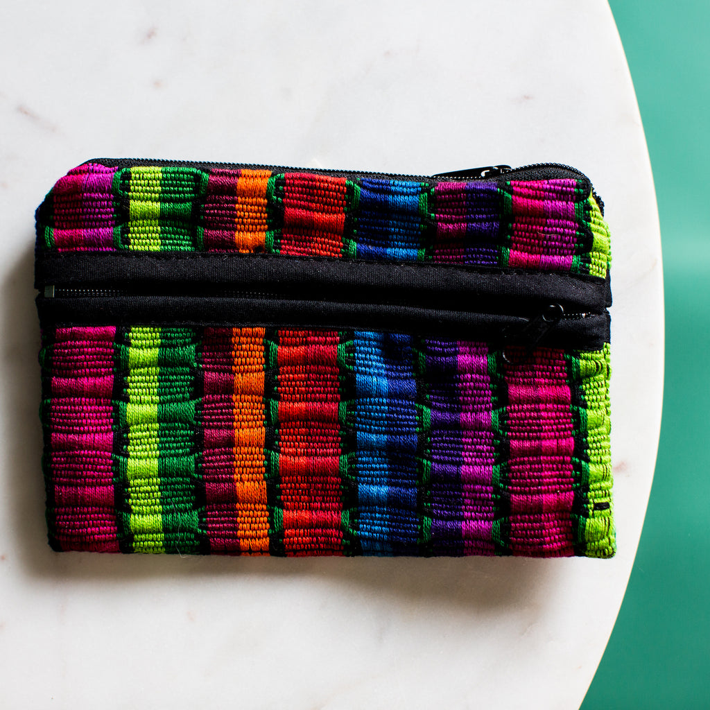 small fair trade comalapa coin bag