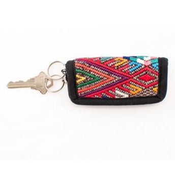 Lucia's World Emporium Fair Trade Handmade Guatemalan Upcycled Key Chain