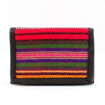 Lucia's World Emporium Fair Trade Handmade Guatemalan Fabric R & N Wallet