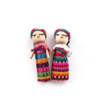 Lucia's World Emporium Fair Trade Handmade Guatemalan Worry Doll