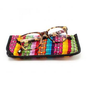 Lucia's World Emporium Fair Trade Handmade Guatemalan Comalapa Eyeglass Case