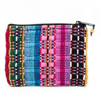 Handmade Fair Trade Small Woven Guatemalan Comalapa Coin Bag