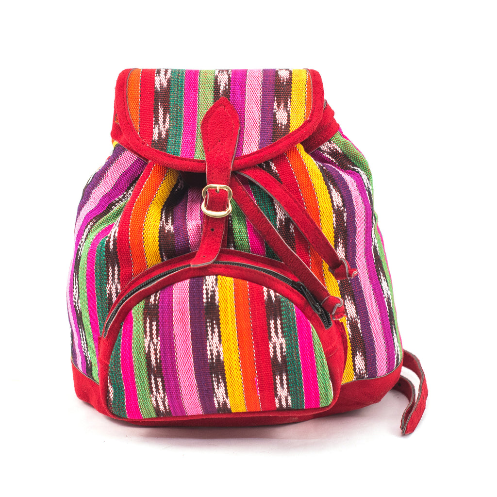 Guatemalan Fair Trade Backpack Purse