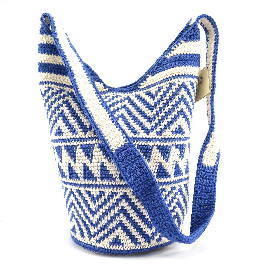 Lucia's World Emporium Fair Trade Handmade Medium Nebaj Zipper Purse from Guatemala