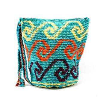 Guatemalan Cotton Bucket Purse