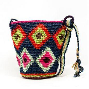 Lucia's World Emporium Fair Trade Handmade Small Nebaj Purse from Guatemala