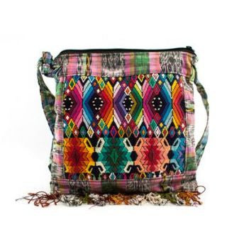 Handmade Guatemalan Cotton Purse