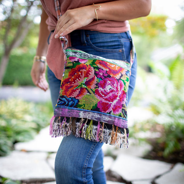 Mini Fringe Fair Trade Purse
