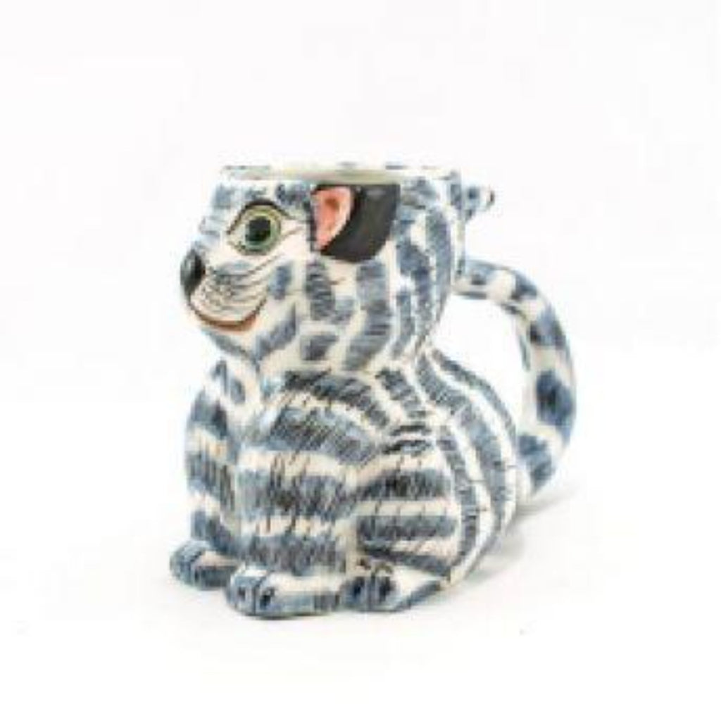 Lucia's World Emporium Fair Trade Handmade Guatemalan Ceramic Cat Mug